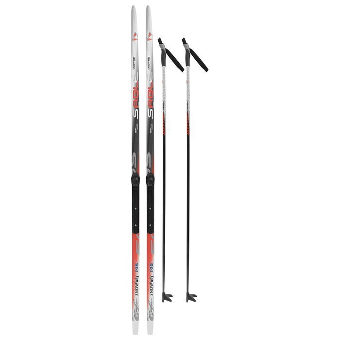 Комплект лыжный БРЕНД ЦСТ Step, 195/155 (+/-5 см), крепление NNN