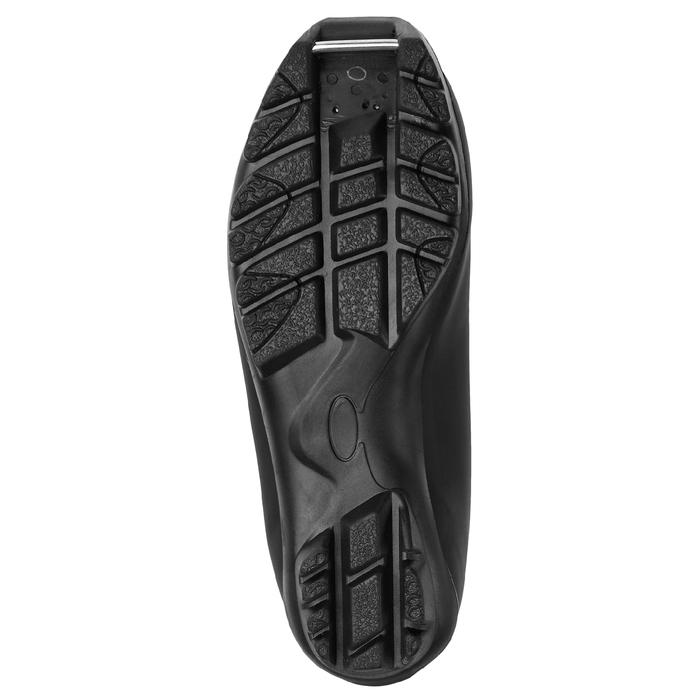Ботинки лыжные TREK Sportiks NNN ИК, цвет чёрный, лого синий, размер 38