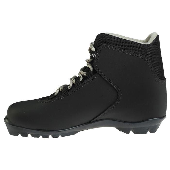 Ботинки лыжные TREK Blazzer NNN ИК, цвет чёрный, лого серый, размер 39