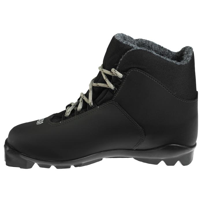 Ботинки лыжные TREK Level 4 SNS ИК, цвет чёрный, лого серый, размер 42