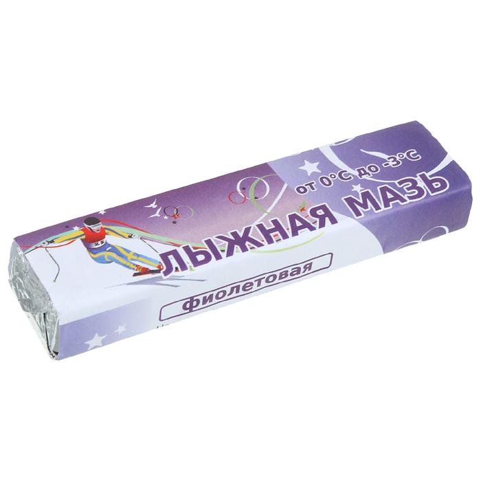Мазь лыжная, фиолетовая (от 0 до -3°C), 40 г