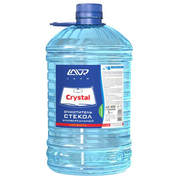 Очиститель стекол универсальный LAVR Кристалл концентрат 1:5 Glass Cleaner Crystal 5л