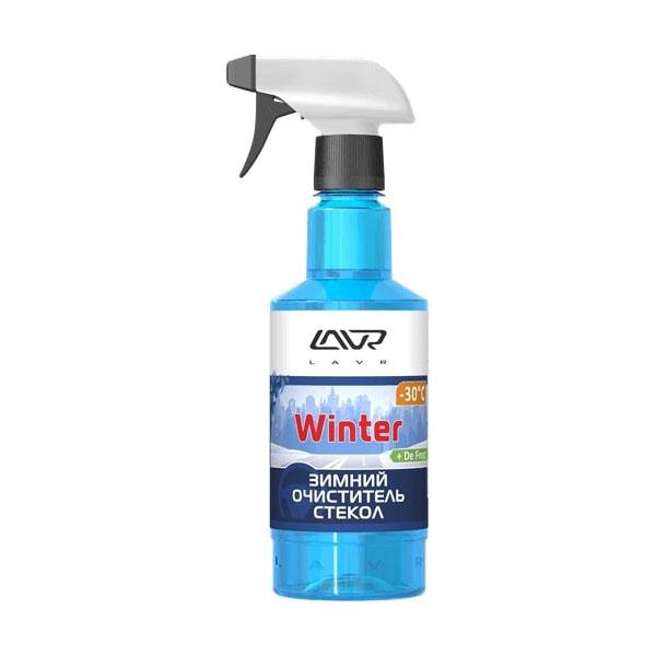 Зимний очиститель стекол LAVR (-30C) с триггером  Glass cleaner winter 500мл