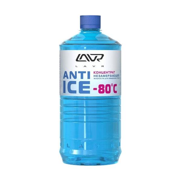 Концентрат незамерзающей жидкости для омывания стекол LAVR Anti-ice (-80C)  concentrate 1000мл