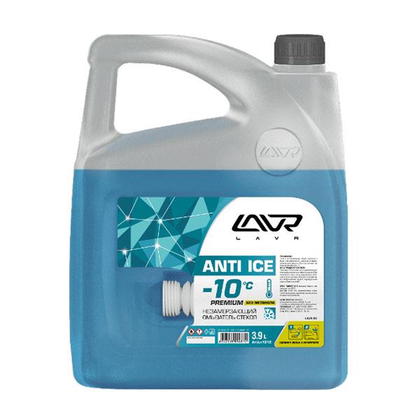 Незамерзающий омыватель стекол LAVR -25°С Anti-ice Premium 3,9 л
