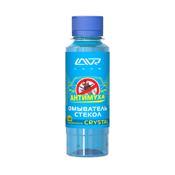 Омыватель стекол LAVR Анти-муха Crystal LAVR Glass Washer Anti Fly 5л