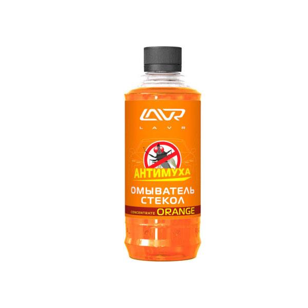 Омыватель стекол LAVR Orange Анти Муха концентрат Glass Washer Concentrate Anti Fly 1000мл