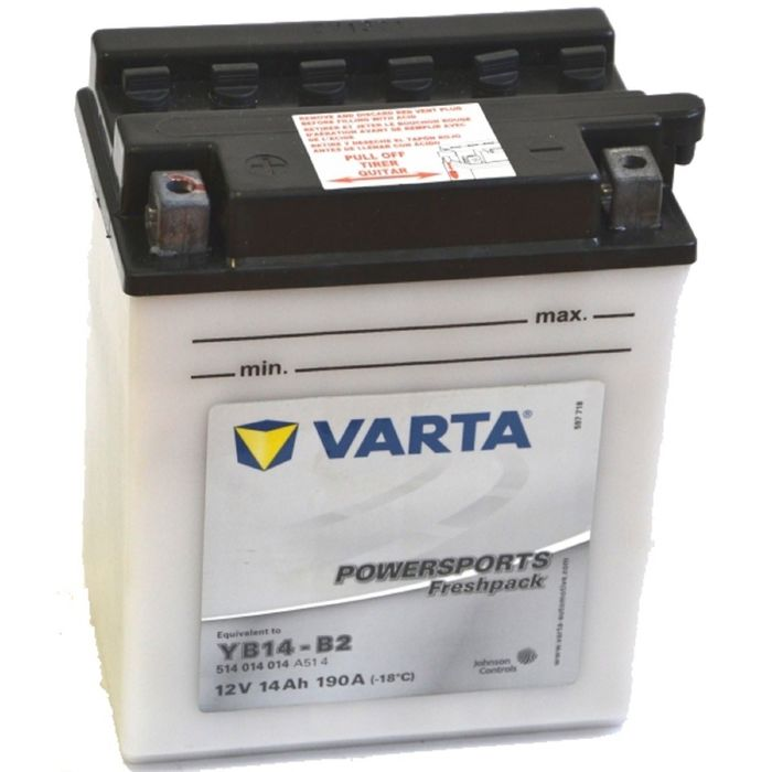 Аккумуляторная батарея Varta 14 Ач Moto 514 014 014 (YB14-B2)