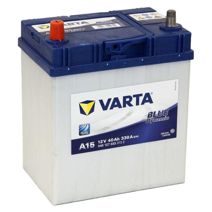 Аккумуляторная батарея Varta 40 Ач т/кл Blue Dynamic 540 127 033