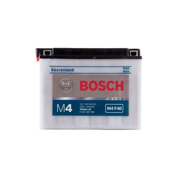 """Аккумулятор Bosch 16Ah """"-  +"""" (516016)"""