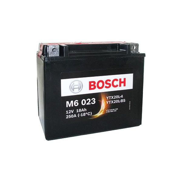 """Аккумулятор Bosch 18Ah """"-  +"""" (518901)"""
