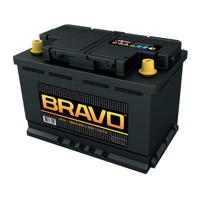 Аккумуляторная батарея BRAVO 74 А/ч - 6 СТ АПЗ, прямая полярность