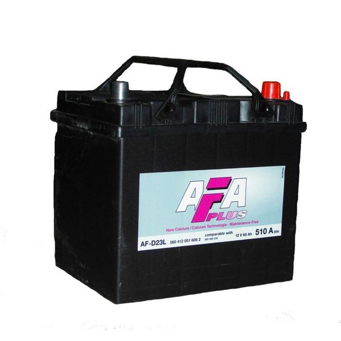 Аккумуляторная батарея AFA AF-D23L, 60 А/ч - 6СТ АПЗ выс., обратная полярность
