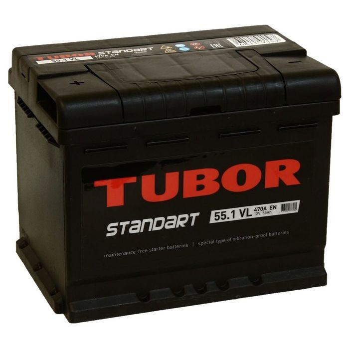 Аккумуляторная батарея Tubor Standart 55 Ач
