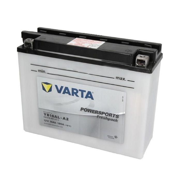 Аккумуляторная батарея Varta 16 Ач Moto 516 016 012 (YB16AL-A2)