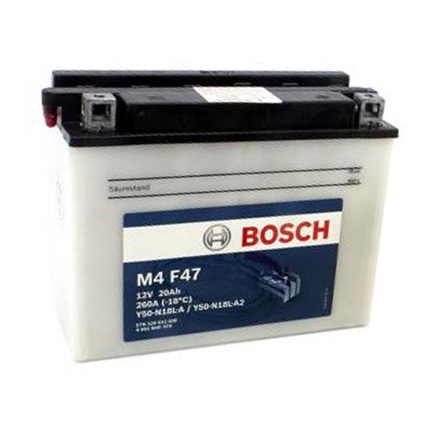 """Аккумулятор Bosch 20Ah """"-  +"""" (520012)"""