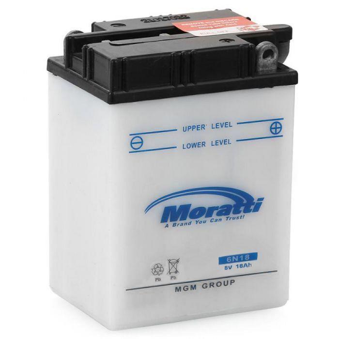 Аккумуляторная батарея Moratti 18 Ач 6N18