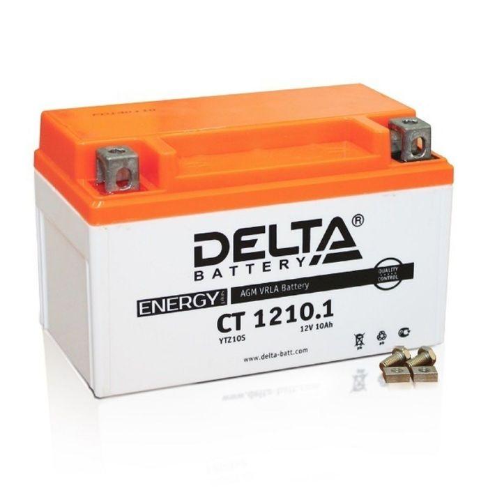 Аккумуляторная батарея Delta 10 Ач CT 1210.1 (YTZ10S)