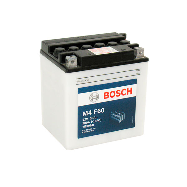 """Аккумулятор Bosch 30Ah """"-  +"""" (530400)"""