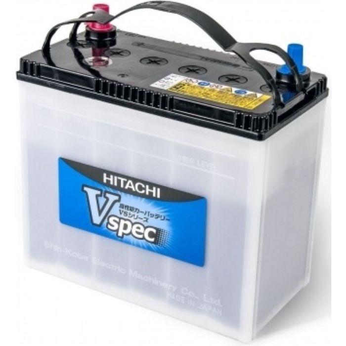 Аккумуляторная батарея HITACHI V65В24 R, 55 А/ч, серия Vspec, прямая полярность, пусковой ток 500 А