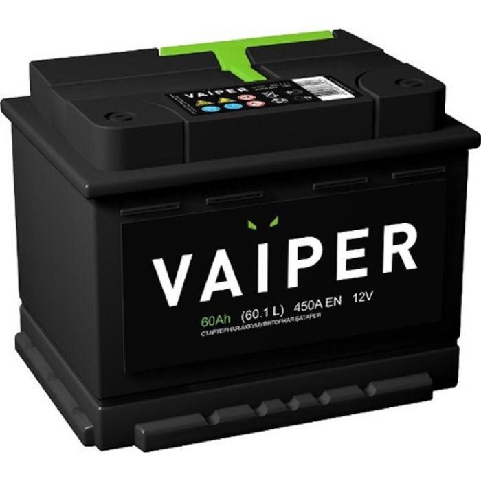 Аккумуляторная батарея Vaiper 60 Ач 6СТ-60.1