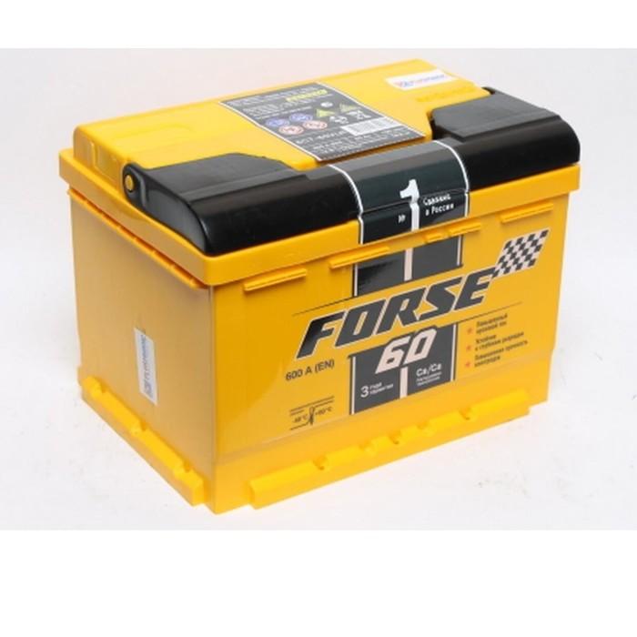 Аккумуляторная батарея Forse п.п 60 - 6 СТ АПЗ