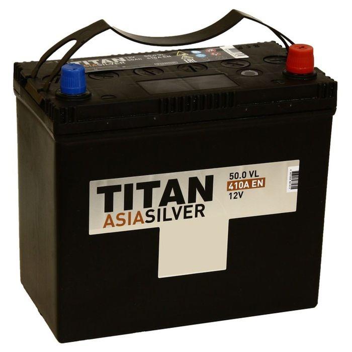 Аккумуляторная батарея Titan Asia Standart 50 Ач, обратная полярность