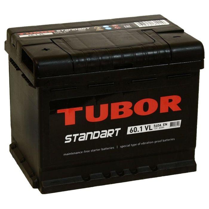 Аккумуляторная батарея Tubor Standart 60 Ач