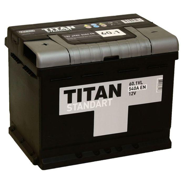Аккумуляторная батарея Titan Standart 60 Ач