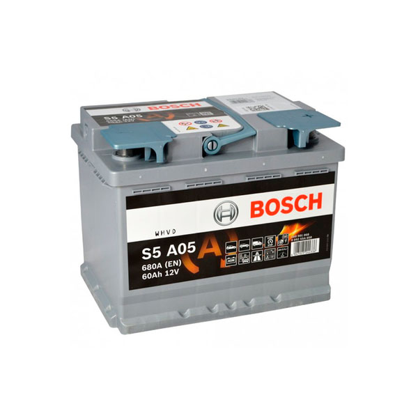 """Аккумулятор Bosch 60Ah """"-  +"""" (560901)"""