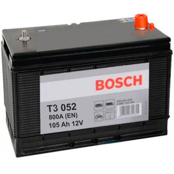 """Аккумулятор Bosch 105Ah """"+  -"""" (605103)"""