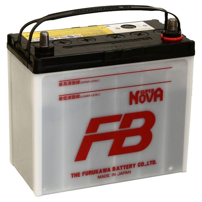 Аккумуляторная батарея FB SUPER NOVA 45 Ач, обратная полярность т/кл 46B24L