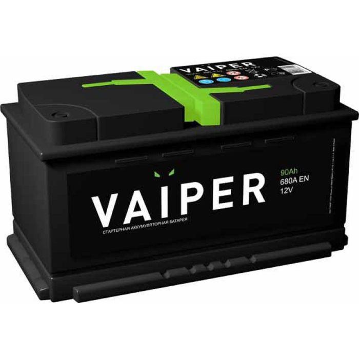 Аккумуляторная батарея Vaiper 90 Ач, обратная полярность 6СТ-90.0
