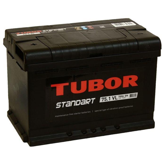 Аккумуляторная батарея Tubor Standart 75 Ач