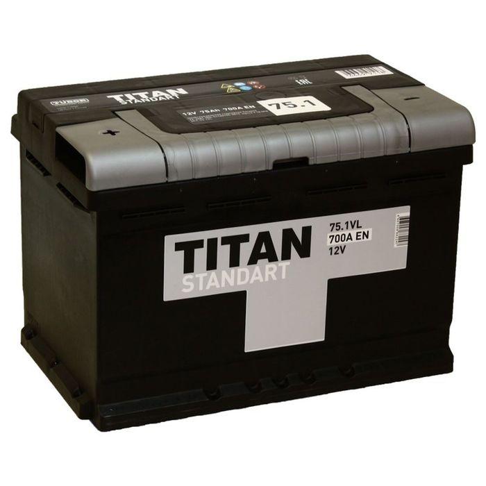 Аккумуляторная батарея Titan Standart 75 Ач