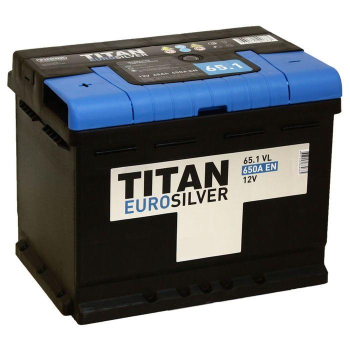 Аккумуляторная батарея Titan Euro Silver 65 Ач
