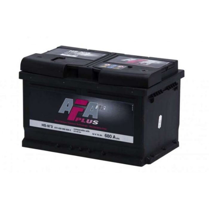 Аккумуляторная батарея AFA HS-N4, 80 А/ч - 6СТ АПЗ низ. , обратная полярность