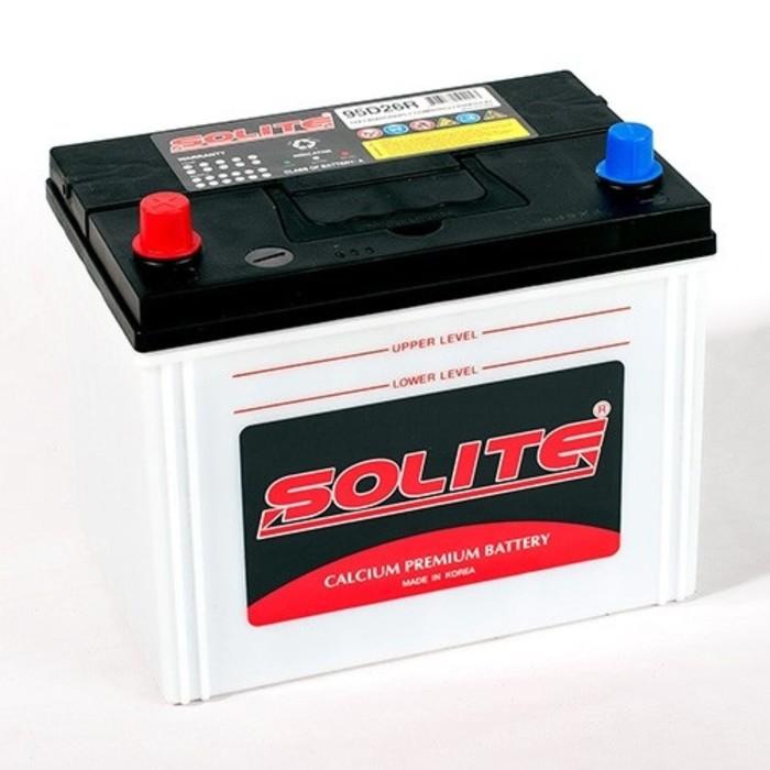 Аккумуляторная батарея Solite SMF п.п. 85 - 6СТ АПЗ