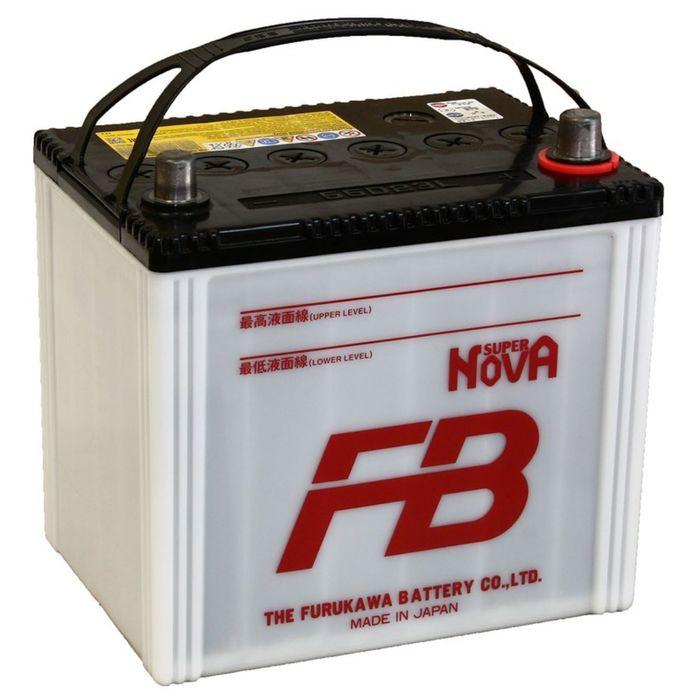 Аккумуляторная батарея FB SUPER NOVA 60 Ач, обратная полярность 55D23L