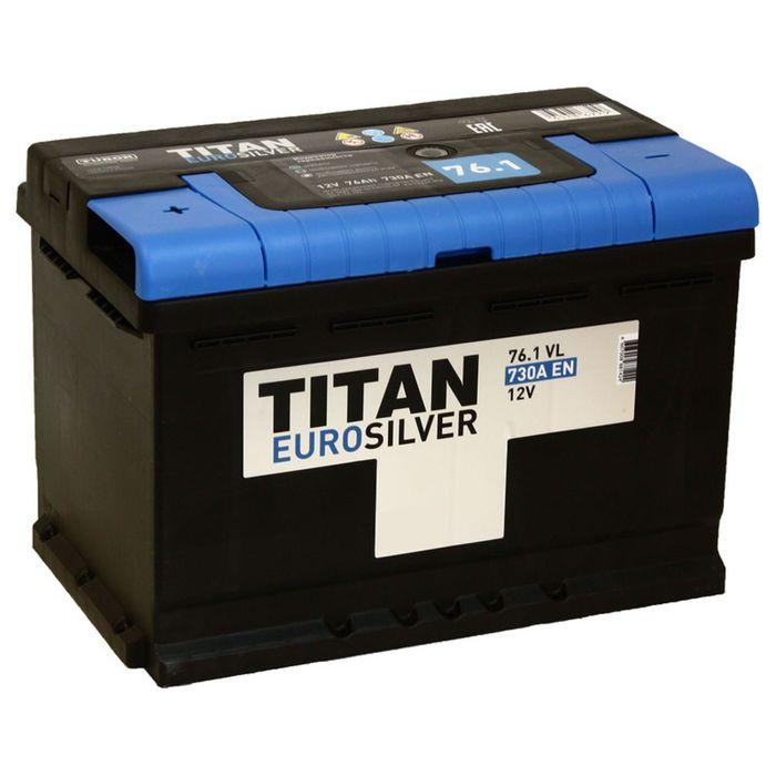 Аккумуляторная батарея Titan Euro Silver 76 Ач