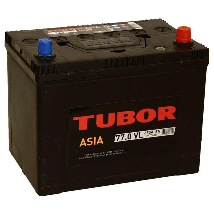 Аккумуляторная батарея Tubor Asia 77 Ач, обратная полярность