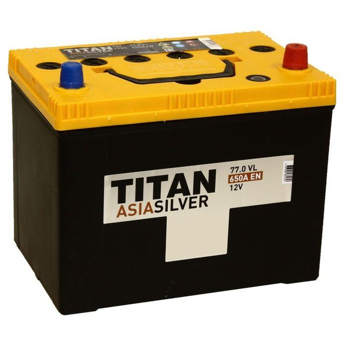 Аккумуляторная батарея Titan Asia Silver 77 Ач, обратная полярность