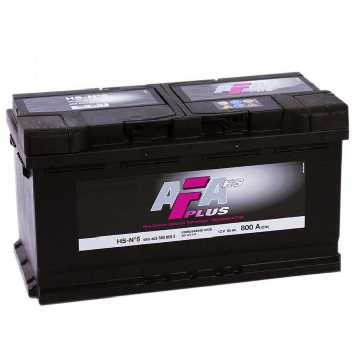 Аккумуляторная батарея AFA HS-N5-2 100 А/ч - 6СТ АПЗ, обратная полярность