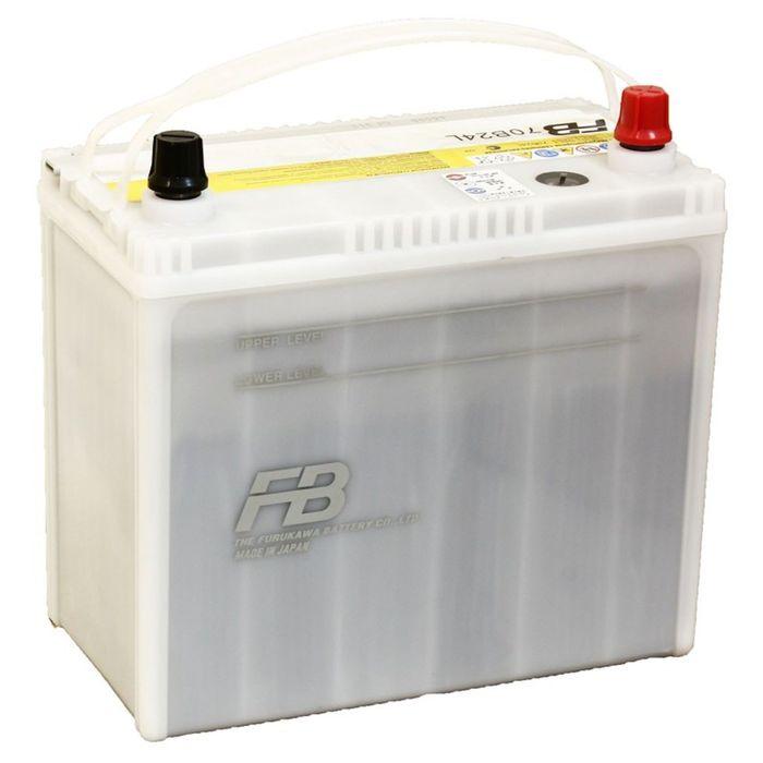 Аккумуляторная батарея FB9000 55 Ач, обратная полярность т/кл 70B24L