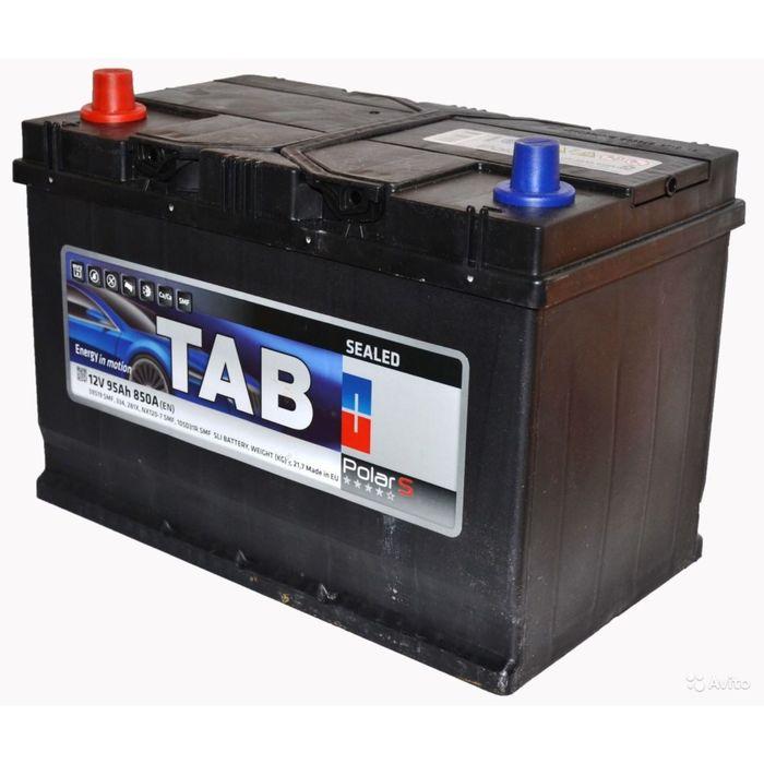 Аккумуляторная батарея TAB Polar 5 А/ч - 6СТ АПЗ выс. прямая полярность