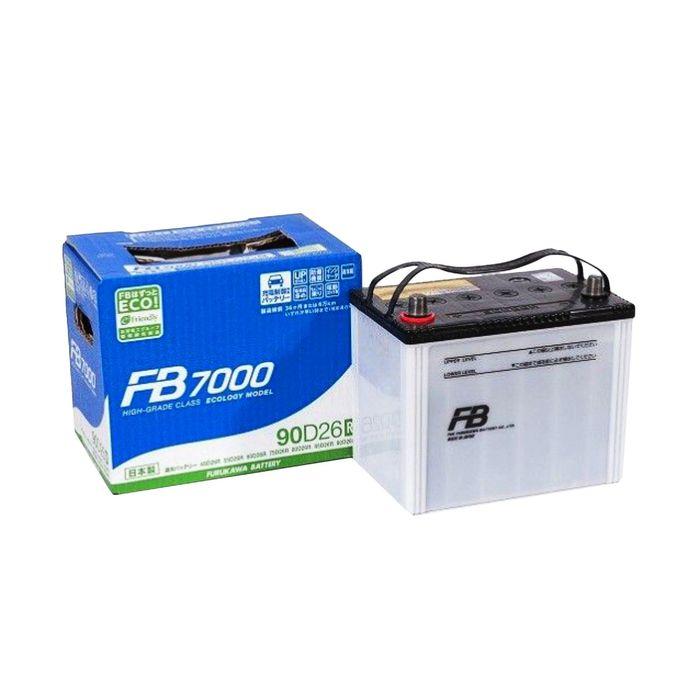 Аккумуляторная батарея FB7000 73 Ач 90D26R, прямая полярность