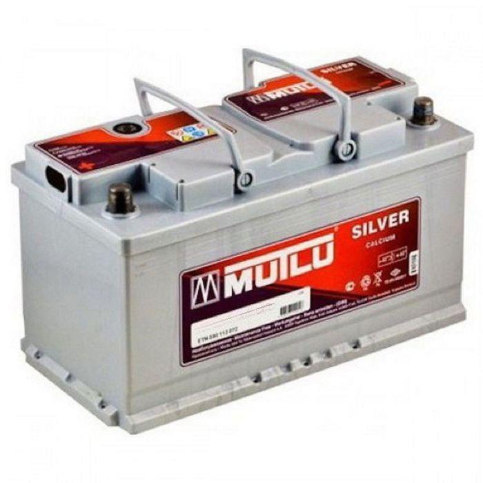 Аккумуляторная батарея Mutlu Кальциум Сильвер 100 А/ч - 6СТ  АПЗ, обратная полярность