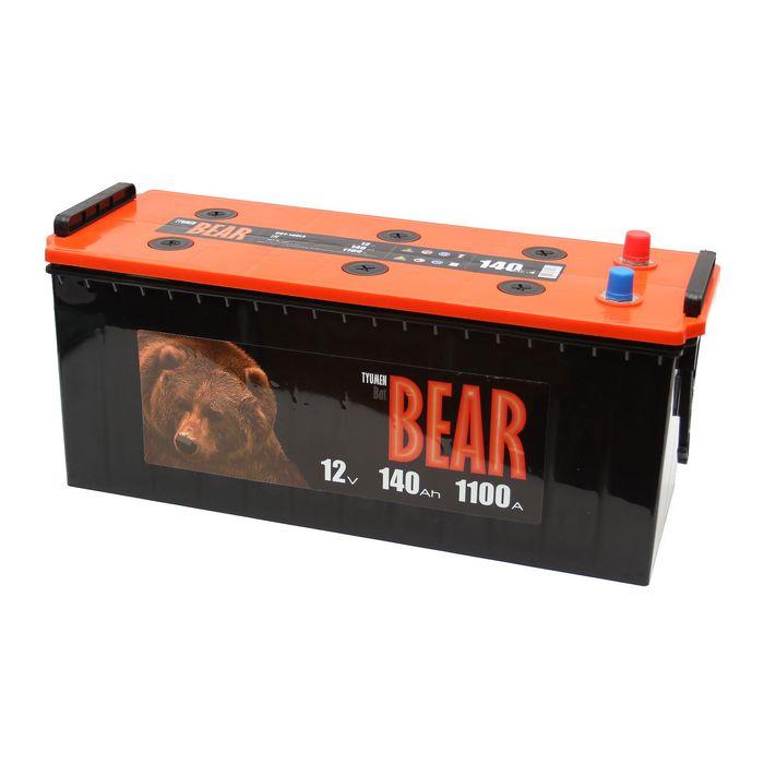 Аккумуляторная батарея Batbear 140 Ач 6СТ-140LA, прямая полярность