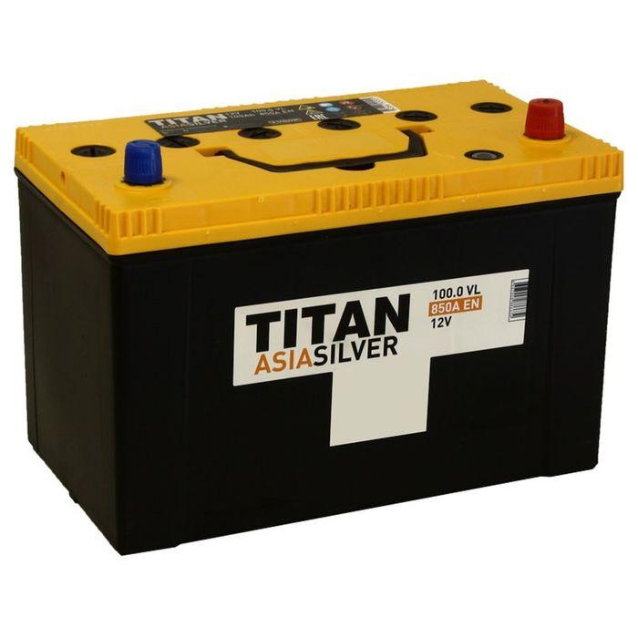 Аккумуляторная батарея Titan Asia Silver 100 Ач, обратная полярность