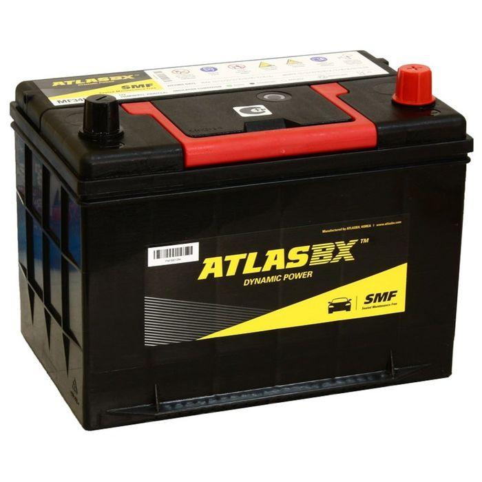 Аккумуляторная батарея Atlas 85 Ач, обратная полярность MF 34R-750
